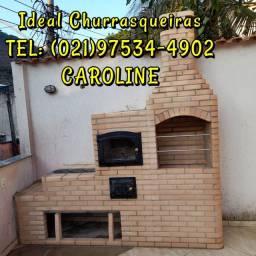 Churrasqueira Colonial / Forno Caipira Cinzeiro/ fogão a lenha