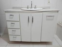 Armário para banheiro (com pia)
