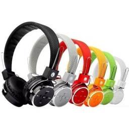 Fone de Ouvido Headphone, Rádio, Wi-fi Bluetooth Recarregável,NOVO/ACEITO TROCAS