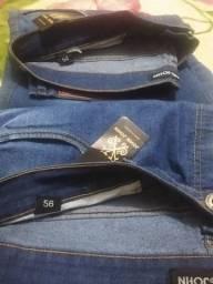 Título do anúncio: Calças Jeans tamanho 54 e 56 Novas com etiqueta(Masculino)