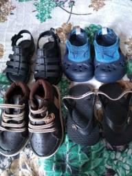 Lote sapatos de menino tamanho 18.19.20