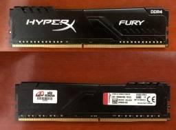 Memroria Hyper Fury 8gb DDR4