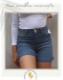 bermuda cintura média