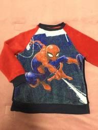 Pijama soft Homem Aranha tamanho 5-6