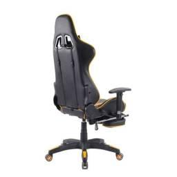 Cadeira Gamer Legends Preta e Amarela (NOVA)