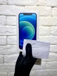 Iphone 12 64GB Azul - Novo - Lacrado com NF