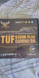 Título do anúncio: Placa mae tuf b360m-plus gaming/br  c/defeito