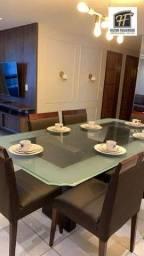 Título do anúncio: Alugo apto mobiliado em Manaíra c 3 qtos, sendo 1 suites, wc, sla ampla, coz, 2 Vagas. Áre