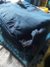 10 bermudas jeans atacado