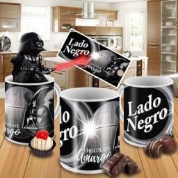 Caneca chocolate amargo personalizada