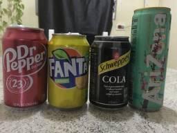 Latas refrigerante importadas !!!