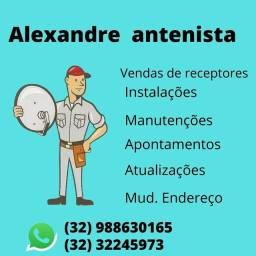 Título do anúncio: Manutenção de antenas