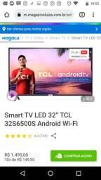 Tv tcl smart Android 32 polegada