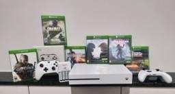 Xbox One S Completo sem detalhes.