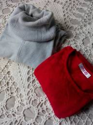 Kit blusas de malha p