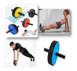 Roda Fitness Abdomen / Ombro / Triceps / Lombar / Costas