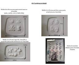 Moldes de silicone de alta qualidade para confeitaria Chá-de-bebê