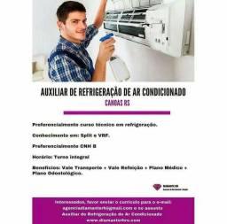 Auxiliar de Refrigeração de Ar Condicionado