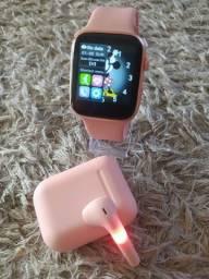 Título do anúncio: Relógio inteligente x8 Rosa e preto fazemos entrega na sua casa ? hoje