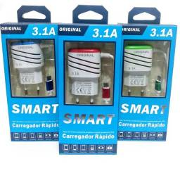 Carregador de celular smart vb 3.1 A original