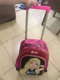 Mochila da Barbie com rodinha