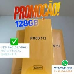 O MAIS BARATO do BRASIL! POCO M3 128GB / Novo Lacrado Garantia / GLOBAL