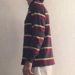 Camisa polo halsey listrada