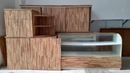 Conjunto Completo Balcões de Padaria/Cafeteria