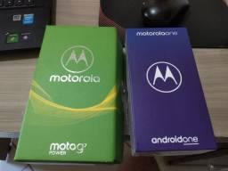 Moto G7 Power e moto one. Vendo Os dois por 1.000,00.