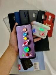 Samsung S9 novo + fone bluetooth de brinde