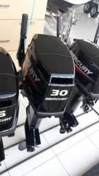 Título do anúncio: MOTOR 30 HP MERCURY COM PARTIDA