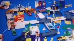 Jogo de montar cidade de carros