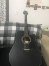 Vendo violão folk strinberg cordas aço , elétrico , 5 meses de uso