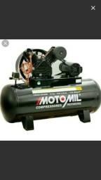 Compressor 20 pés 200 litros novo