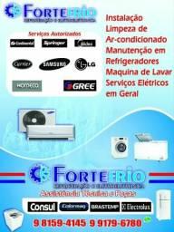 Forte frio refrigeração e elétrica