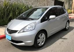 Honda Fit EX 1.5 Flex 2011 Prata - 2011
