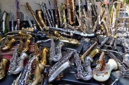 Manutenção em Sax, clarinete, flauta, trompete Etc