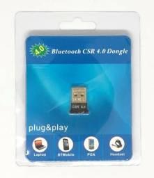 Título do anúncio: Mini Adaptador Bluetooth 4.0 CSR Edr Usb Dongle PC e Notebook Novo na Embalagem