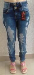 Calça Jeans Feminina Vários Modelos Direto Fábrica - Calça Feminina Jeans Todos Tamanhos