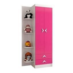 Guarda Roupa Infantil Rosa *novo na caixa