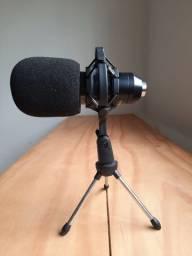 Microfone Condensador Profissional Bm800 Studio