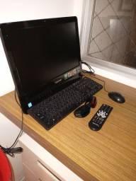 Computador e TV. Union Positivo