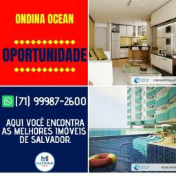 Magnífico Ondina Ocean, 1 quarto em 40m² no melhor da Ondina