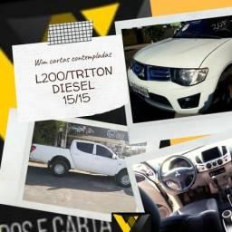 L200 Triton Diesel 4/4 15/15 Não Consultamos Score - 2015