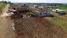 Terreno de 300 m² 15x20