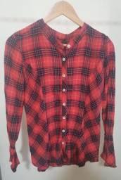 Camisa Xadrez Malwee