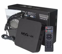 TV Box 4K - Smart Tv Box Android ( NOVO) Transforme sua TV em Smart