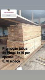 Tábua de Pinus 1x8 e 1x10 leia a descrição