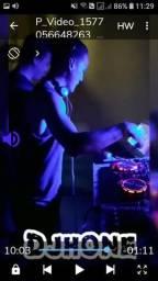 DJ Djhone Som e iluminação