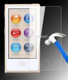 Película de vidro para IPod nano 7 Apple. Tenho capinha também